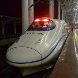 中国高速鉄道車両CRH2@丹陽駅