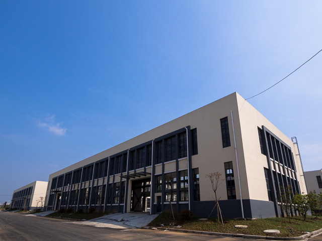 JAPICレンタル工場(施工中の外観)@江蘇省丹陽市