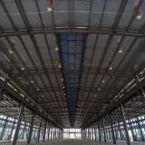 JAPICレンタル工場内部(27号棟施工中)@江蘇省丹陽市