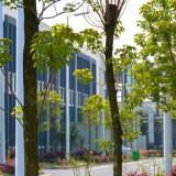 JAPICは緑が豊かなのも特徴@江蘇省丹陽市