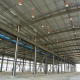 JAPICレンタル工場(施工中の内部)@江蘇省丹陽市